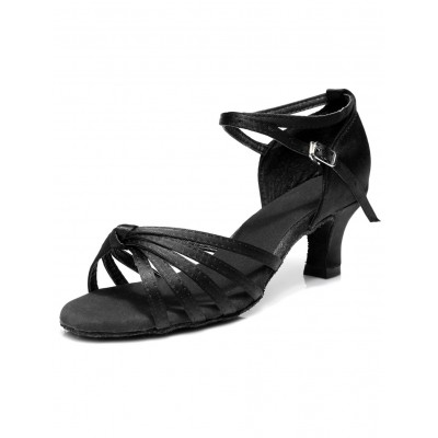 Blue Satin Ballroom Shoes for Women outlet #17020566839