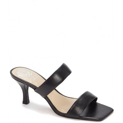 Women Aslee Leather Square Toe Dress Mules Vince Camuto PQBRXEW