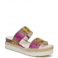 Women Sarto By Franco Sarto Cappy Snake Print Espadrille Platform Sandals Franco Sarto Fitted BYQWMHQ