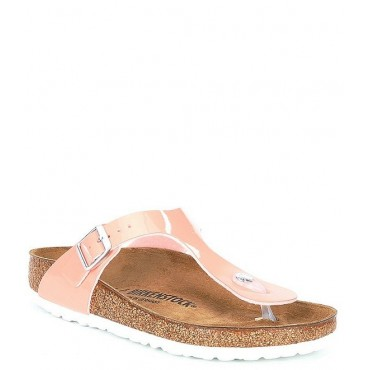 Women Women's Gizeh Patent Thong Style Slip-On Sandals Birkenstock high quality YQYUFQT