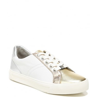 Women Astara Metallic Leather Lace-Up Sneakers Naturalizer Sale BSIXQVY