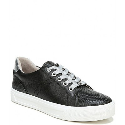 Women Astara Snake Embossed Leather Lace-Up Sneakers Naturalizer ZCGJWJE