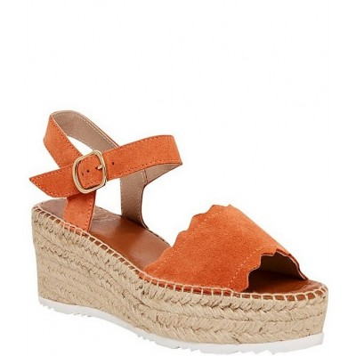 Women Cacia Suede Espadrille Wedge Sandals Andre Assous Selling Well LJXBWAP